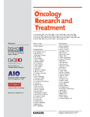 DGHO-Frühjahrstagung 2019 Der jüngere Krebspatient rückt in den Fokus_Oncol Res Treat 42(suppl 3)VI+26 (2019)_Dr-Beate-Gruebler